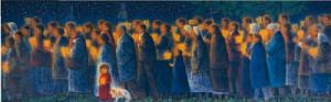 祈りの行進-聖地レルドーフランス